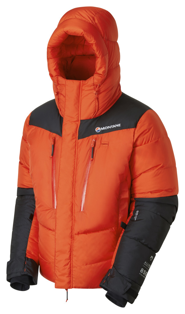 The Montane APEX 8000 down jacket
