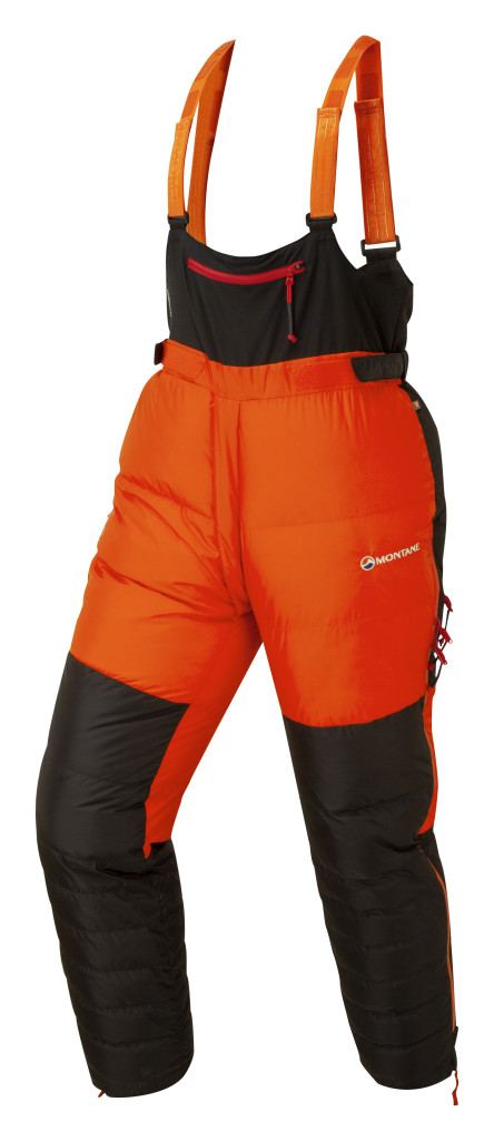 Montane APEX 8000 down salopettes
